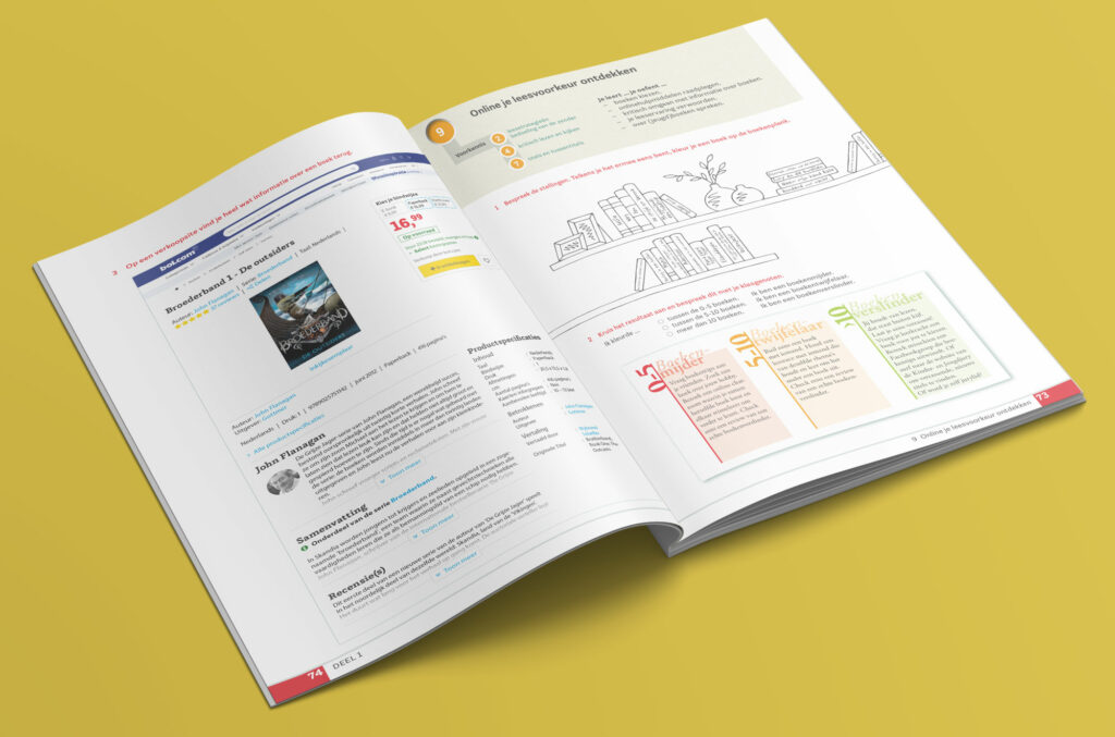 opmaak werkboek nederlands secundaire school